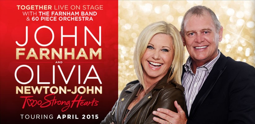 John Farnham Two Strong Hearts Tour 2015