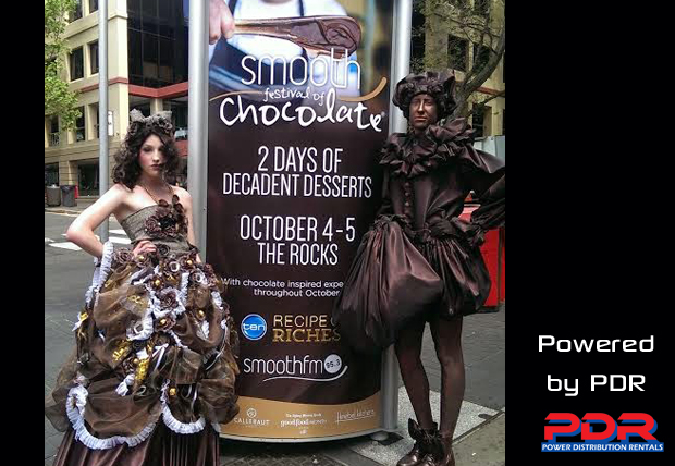 PDR Powers The Festival of Chocolate