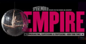 Empire at the Spiegeltent