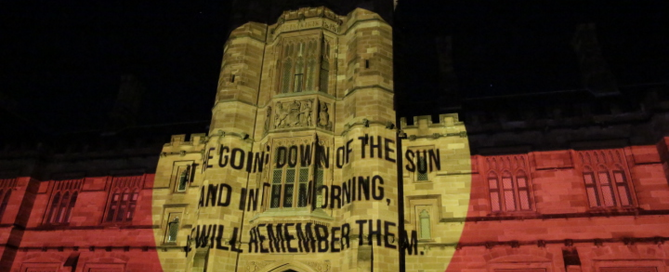 Vivid at Sydney Uni powered by PDR