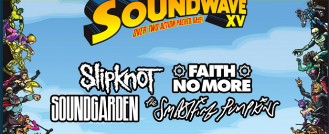 You are currently viewing Soundwave 2015 over two days